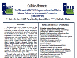 MEDCOAST 2017 - Call for Abstracts