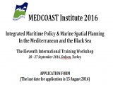 MEDCOAST Institute 2016 - Application Form
